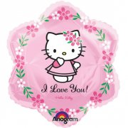 ! NOVĚ - MAXI balón Hello Kitty- I Love You 45cm !