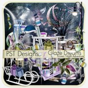 Glaze Dreams - kit pro digiscrapbook