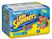 HUGGIES Little Swimmers XS 3-7kg - pleny do vody