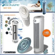 BIONAIRE® BAP825WO-U HEPA-Type Tower Air Purifier
