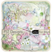 Letter For Mum - kit pro digiscrapbook