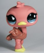 +++ LITTLEST PET SHOP - LPS - PŠTROS 1045 +++