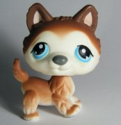 +++ LITTLEST PET SHOP - LPS -PES HUSKY 68 +++