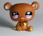 +++ LITTLEST PET SHOP - LPS - MEDVÍDEK 671 +++