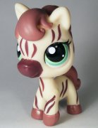 +++ LITTLEST PET SHOP - LPS - ZEBRA 1490 +++