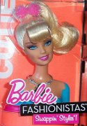 Barbie Fashionistas Cutie Swappin´ Styles hlava