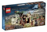 LEGO Pirates of the Caribbean 4182 Útěk před kanib