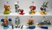 Kinder figurky - Tom and Jerry TT 337-344,  r.2007