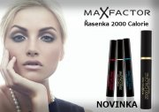 MAX FACTOR 2000 CALORIE VOLUME Black - řasenka NEW