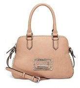 KABELKA GUESS ASHLYN SMALL DOME SATCHEL BLUSH 0201