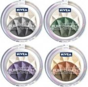 NIVEA Beauté Pure Diamonds Trio oční stíny