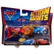 cars 2 action agents raoul , lightning McQueen