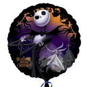 Maxi-balón Nightmare Before Christmas 45cm