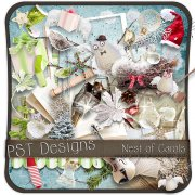 Nest Of Carols - kit pro digiscrapbook