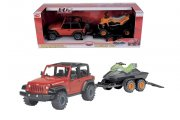 Dickie Holiday Set Jeep Wran,  50 cm