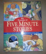 KNÍŽKA POHÁDEK V ANJ - FIVE MINUTES STORIES