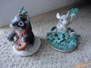 Little Drummer Boy Steward Skunk + Good Luck Mouse