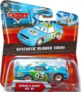 CARS SPARE O MINT NO.93 SYNTHETIC RUBBER TIRES