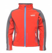 Regatta softshell. bunda Broadcast Pepper 3-4 roky