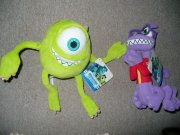 Monsters University plyš 20cm