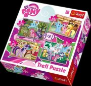 Puzzle - My Little Pony 4 v 1, 35, 48, 54, 7