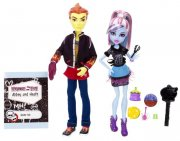 Monster High Heath Burns a Abbey Bominable