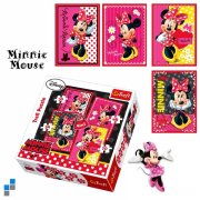 PUZZLE 4v1 - DISNEY MINNIE, 4+