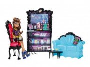 MONSTER HIGH CLAWDEEN WOLF  +  KAVÁRNA