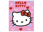 Deka Hello Kitty - 125x160 cm -Cena 181,- bez DPH