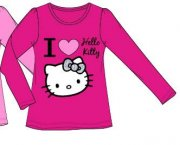 Tričko Hello Kitty I love youu