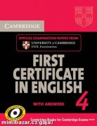 FCE FIRST CERTIFICATE IN ENGLISH 4