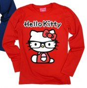 Tričko Hello Kitty junior red
