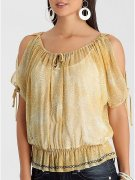 GUESS sheer blouse halenka Top vel. XS IHNED