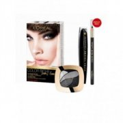 Sada Loreal make up smoky look