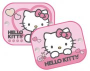 Stínítka, clona 2 ks v balení Disney Hello Kitty
