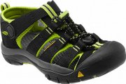 Sandálky Keen NEWPORT black/lime green US 11