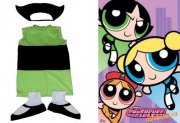 Karneval - kostým - POWERPUFF GIRLS