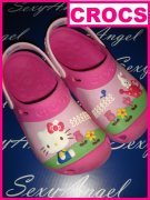CR1/17++BOTY CROCS HELLO KITTY++vel.34-35++vel.J3+