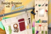 @@@ HANGING ORGANIZER WITH MIRROR @@@