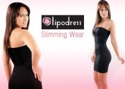 @@@ LIPODRESS ŠATY, SLIM EFEKT : black S/M @@@