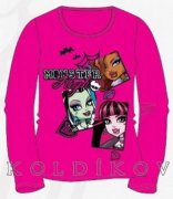 Dívčí triko s MONSTER HIGH
