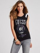 SLEEVELESS GUESS 81 TEE