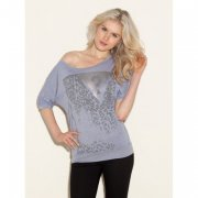 - Top GUESS Half-Sleeve Tee , VEL. XS , S