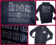 MIKINA HIGH SCHOOL MUSICAL, NA ZIP, vel. 116-122