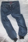 Skinny Denim s efektem aladinek,  vel. UK8/EU36