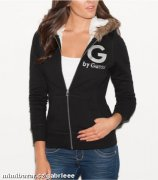 G by GUESS Foxy Fur Hoodie