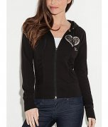 -Mikina GUESS Leo Heart Hoodie - XS,S