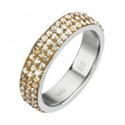 Prsten se Swarovski Elements 35001.5 GOLD