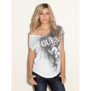 -CAP SLEEVE ETERNITY GUESS TEE