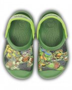 CROCS TEENAGE MUTANT NINJA TURTTLES CLOG svítí !